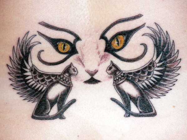 Egyptian Cat Symbols Lektonfo