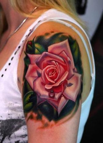 Rose Tattoos are Bloomin' Body Art