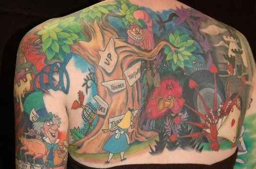 Ink Me With Alice In Wonderland Tattoos Ratta Tattooratta Tattoo