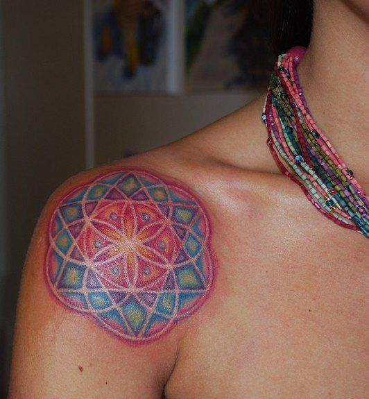 Mandala tattoo designs are sometimes referred to as sacred circles, because many mandala designs are made up of circles