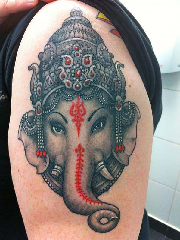 tattoos of the god ganesh create a skin religion tattoo articles ratta tattoo. Black Bedroom Furniture Sets. Home Design Ideas