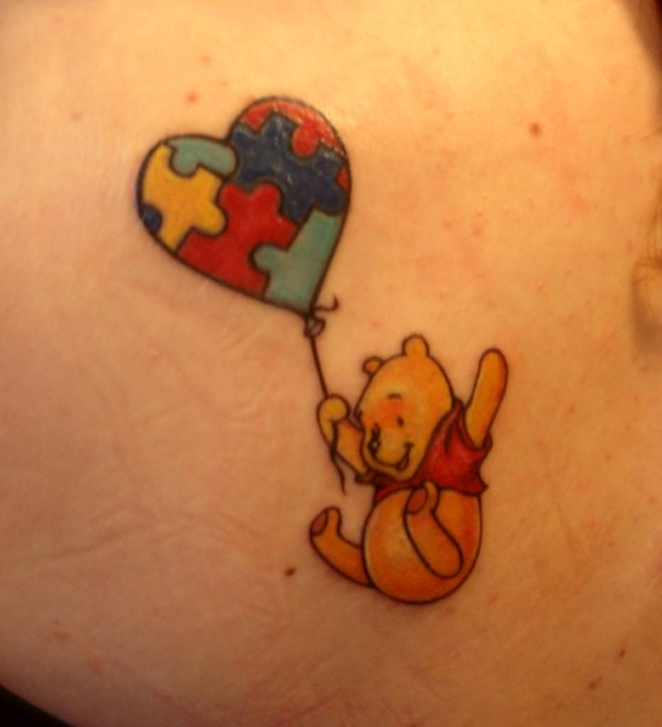 friends forever with winnie the pooh tattoos tattoo