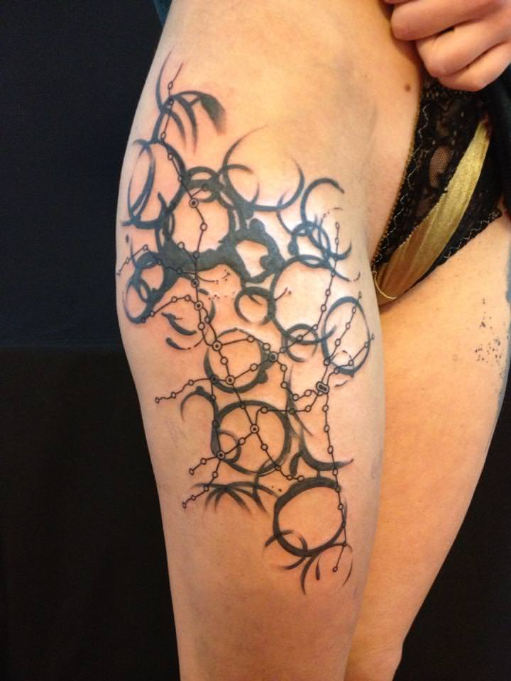 Abstract Tattoos? Avant-garde Tattoos? Graphics Tattoos?