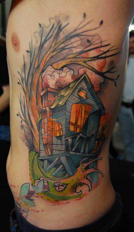 Jukan Tattoos Abstract Watercolor Awesomeness « Tattoo ...