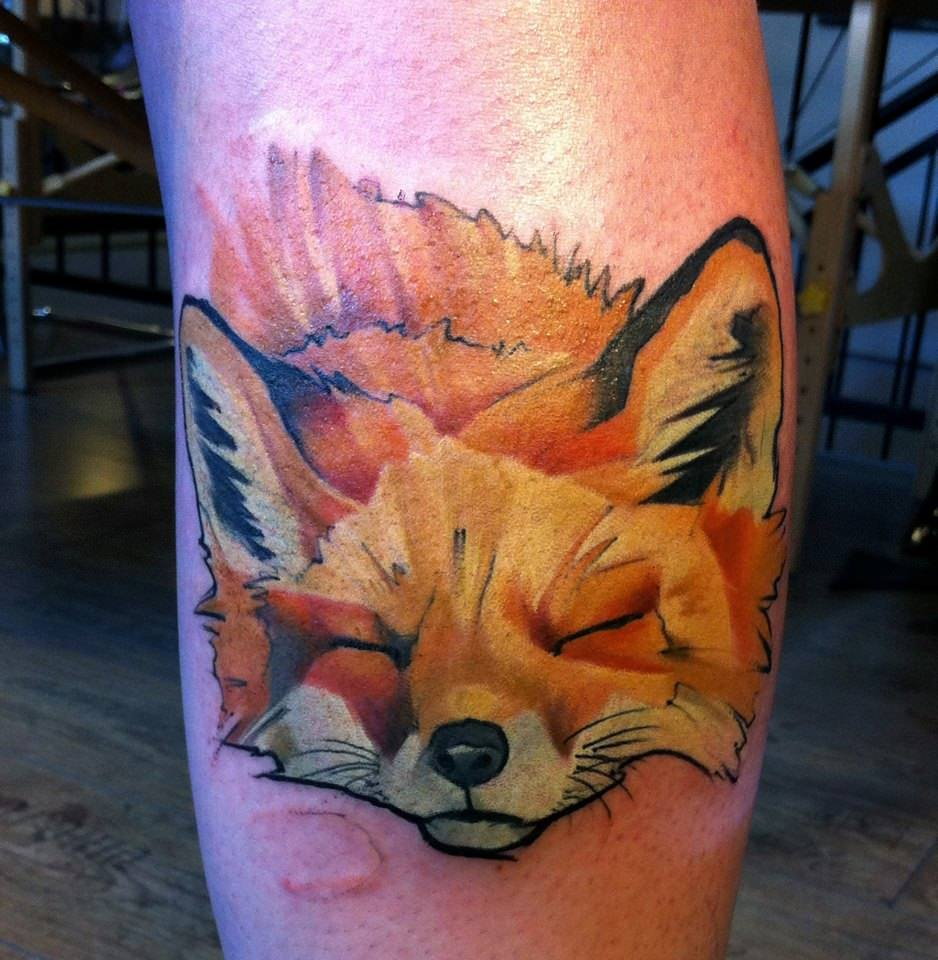 tattoo art animal - photo #8