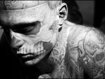 Rico Zombie: The Man Who Turned Himself Into a Skeleton with Tattoos