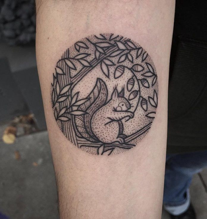You're Gonna Go Nuts over these Squirrel Tattoos - Ratta ...