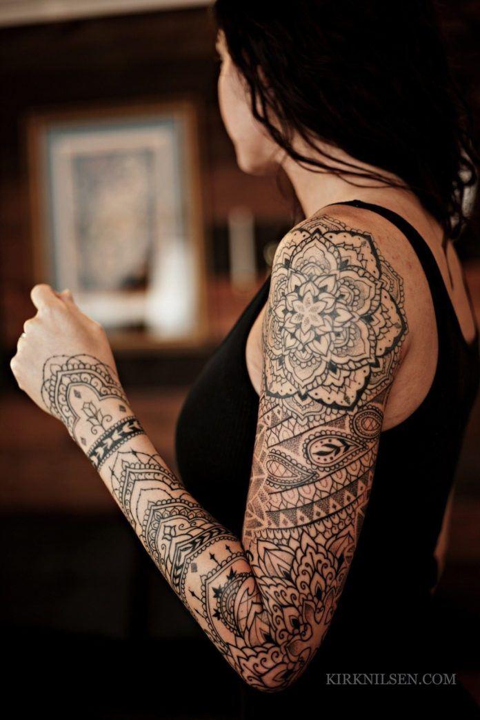 The Majestic Mandala Tattoos Of New Jerseys Kirk Nilsen Ratta